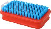 Rectangular Fine Blue Nylon Brush