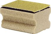 Synthetic combi cork with sand paper attached with Velcro