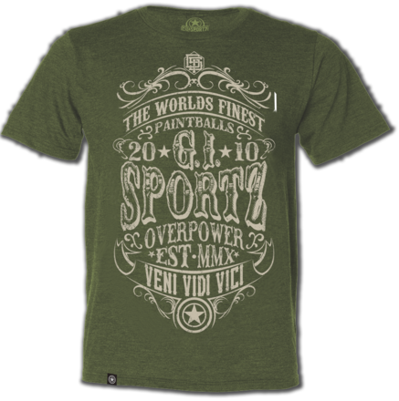 GI T-Shirt Carnival Green - Medium picture