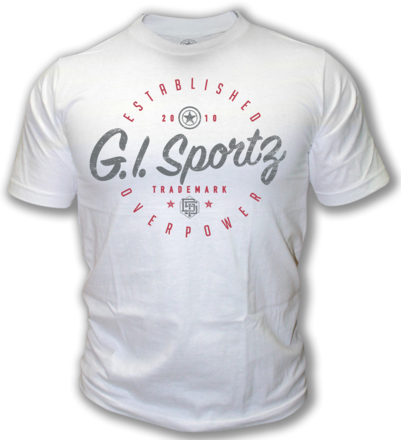 GI T-Shirt Foundation White - Medium picture