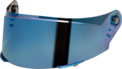 SR2 Visor Blue Mirrored