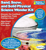 Sand, Snow, and Solid Physical Science Wonder Kit