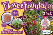 Flower Fountain-Bird & Butterfly Mix