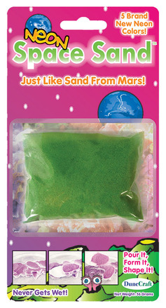 Space Sand Assorted Neon Colors picture