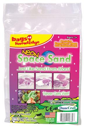 Neon Space Sand (Orange, Purple, Green) picture