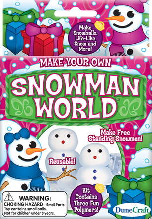 Mini Make Your Own Snowman World picture