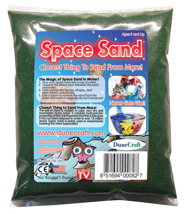 Space Sand 1 lb Green picture