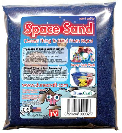 Space Sand 1 lb Blue picture