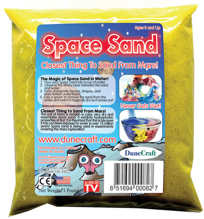 Space Sand 1 lb Yellow picture