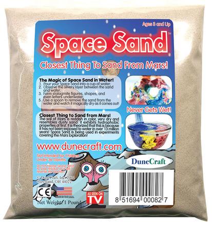 Space Sand 1 lb White picture