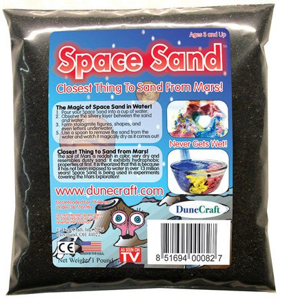 Space Sand 1 lb Black picture