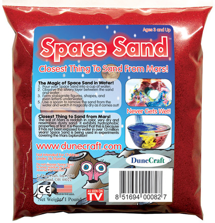Space Sand 1 lb Red picture