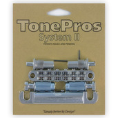 LPM02 - TonePros Metric Tuneomatic/Tailpiece set (large posts)