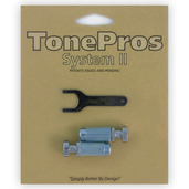 "VM1 - TonePros Metric Locking Studs Vintage ""Steel"""