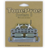 LPS02 - TonePros Standard Tuneomatic/Tailpiece set (small posts)