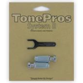 """VS1 - TonePros Standard Locking Studs Vintage """"Steel"""""""