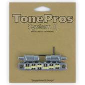 """TPFPG - TonePros Metric Tuneomatic (large posts, notched """"G Formula"""" saddles)"""