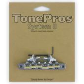 "NVR2G - TonePros AVR2 with Standard Nashville Post Tuneomatic, ""G Formula"" saddles"