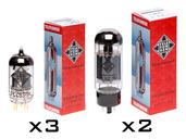 TKIT-001 TUBE KIT (3 ECC83-TK, 2 matched 6L6-TK)