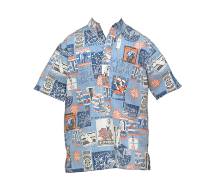 Aloha Pull Over Royal picture