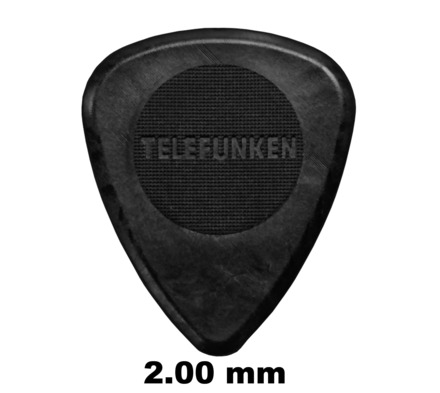 2mm Thick Circle Guitar Picks (6 pack) picture