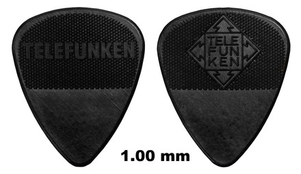 1mm Thin Diamond Guitar Picks (6 pack) picture