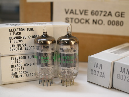 GE JAN 6072a vacuum tube (guitar amp grade) picture