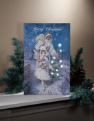 LIGHTED COMPLIMENTS OF THE SEASON CANVAS