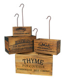 NESTING HERB BOXES SET OF 4