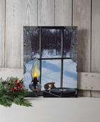 LIGHTED OIL LAMP CANVAS