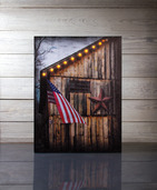 LIGHTED AMERICAN CANVAS