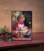 LIGHTED CHRISTMAS COOKIE CANVAS