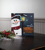 SNOBUSINESS LIGHTED CANVAS