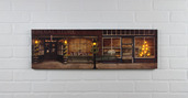 LIGHTED GENERAL STORE CANVAS