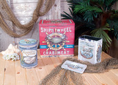 VINTAGE SEAFOOD TINS SET OF 3