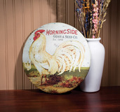 THE ROUND ROOSTER SIGN