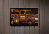 LIGHTED PUMPKIN FOR SALE CANVAS