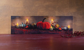 LIGHTED HARVEST DISPLAY CANVAS