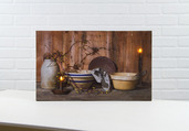 LIGHTED HOME COOKIN CANVAS