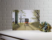 LIGHTED ALMOST HOME CANVAS