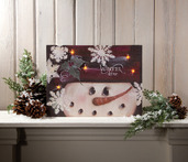 LIGHTED WINTER TIME CANVAS