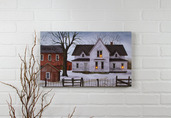 LIGHTED FARMSTEAD CANVAS