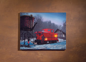 LIGHTED CABOOSE CANVAS