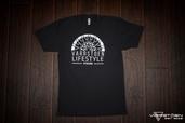 VTDivision Unisex Black T-Shirt