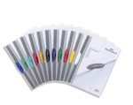 SWINGCLIP File A4, Assorted, Pack 25