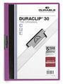 DURACLIP File A4 3mm , Light Purple, Pack 25