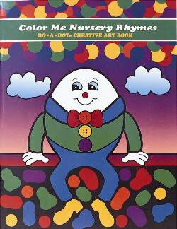 "Color Me Nursery Rhymes  ""Activity Book"" picture"