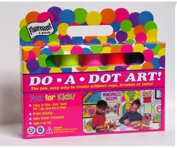"DotArtMarkr. (5-pk) ""Fluorescent"" picture"