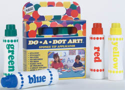 "DotArt Markr. (4-Pk) ""Rainbow"" [Washable] picture"