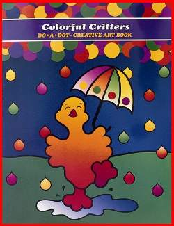 """Colorful Critters         """"Activity Book"""" picture"""
